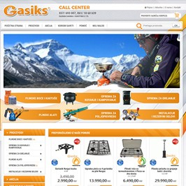 Web shop Gasiks