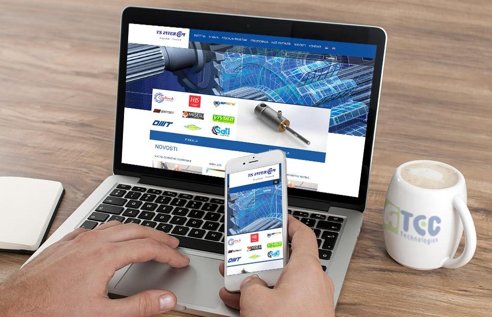 Web sajt TS Intercom