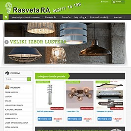 Web shop RasvetaRa