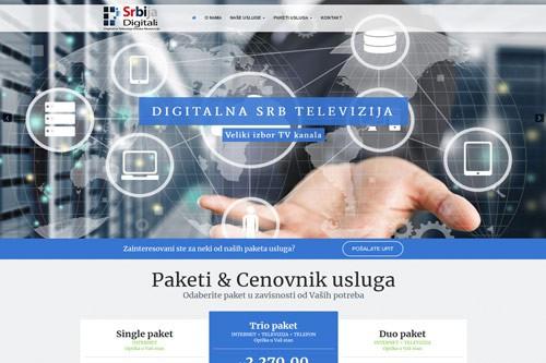 Izrada sajta SRB Digital
