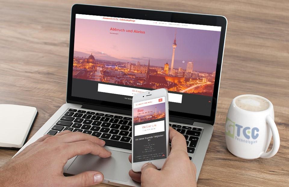 Izrada veb sajta agencije za ciscenje