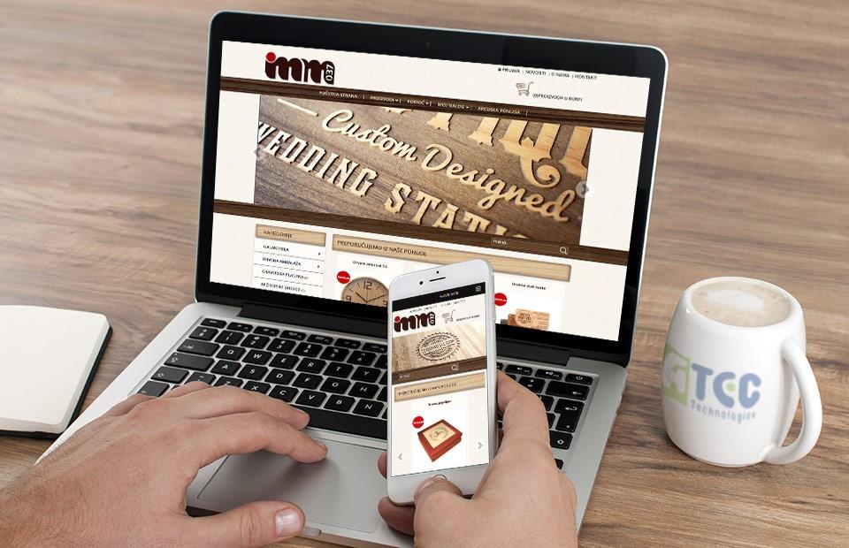 Web prodavnica IMM 037