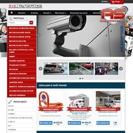 Web sajt Svet automatike
