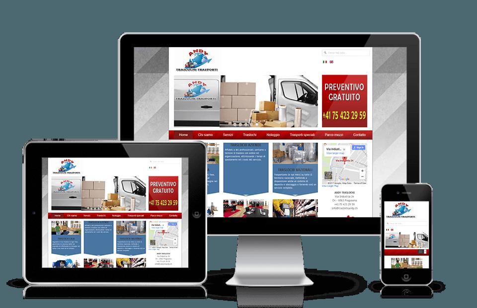 Web site agencije za selidbe
