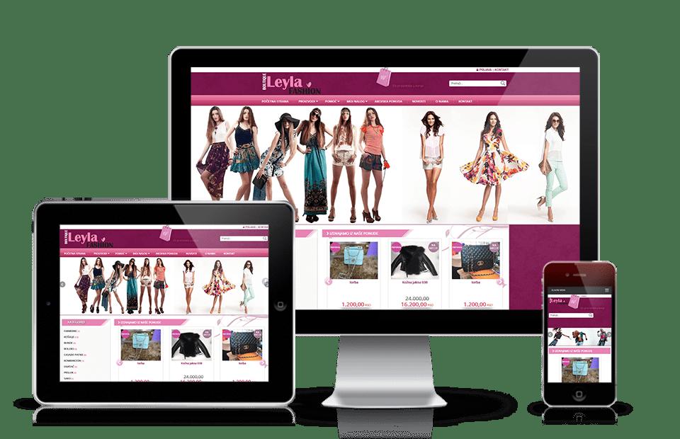 Izrada veb prodavnice