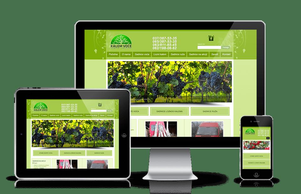 Web sajt sadnica voca
