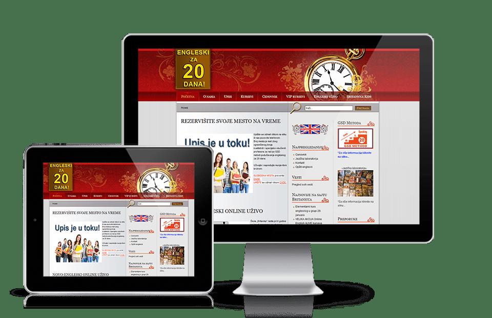 Web sajt škola stranih jezika
