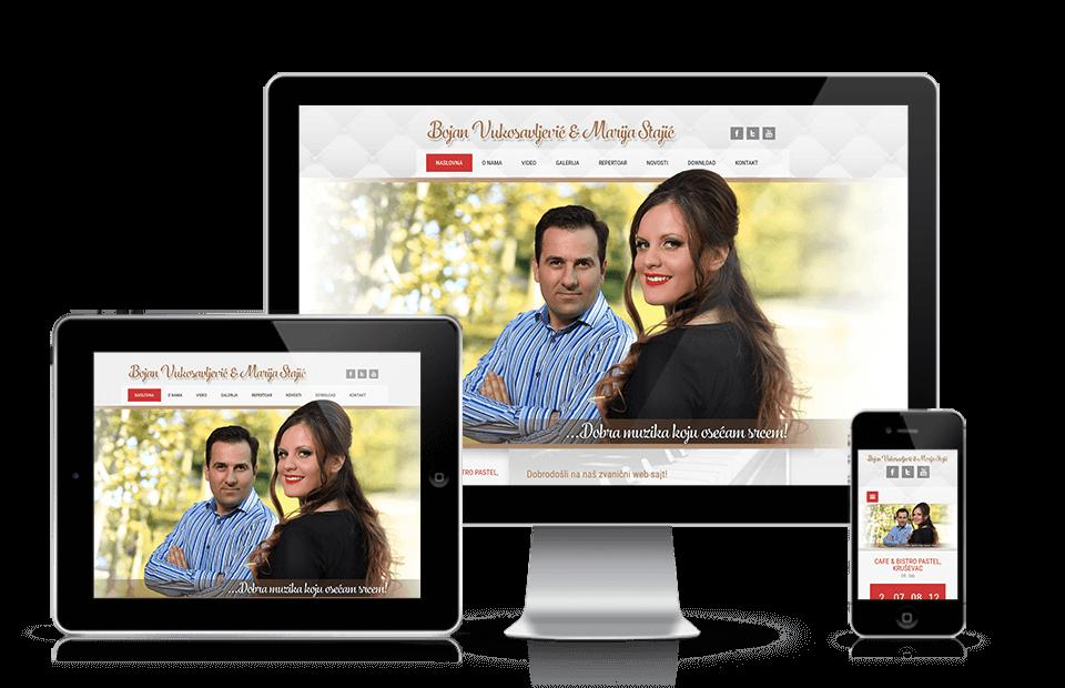 Internet prezentacija Bojan i Marija