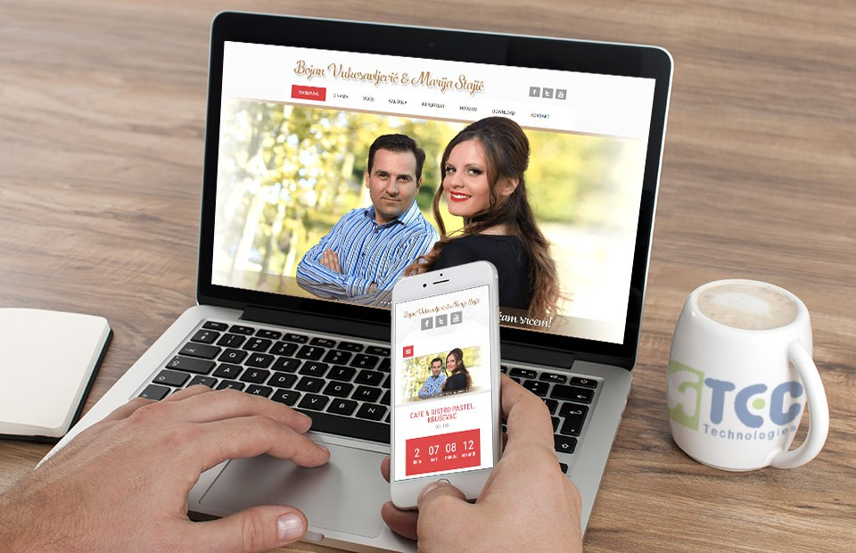 Web sajt Bojan i Marija