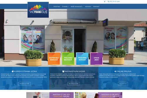 Web sajt Victorious
