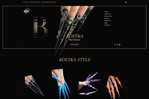 Izrada sajta Kostka Nail System