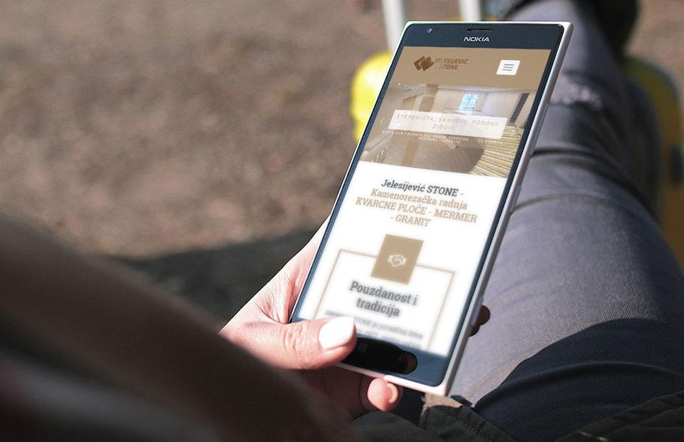 Web sajt za kamenoresce