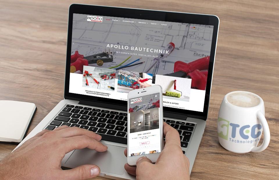 Internet prezentacija Apollobautechnik Cirih