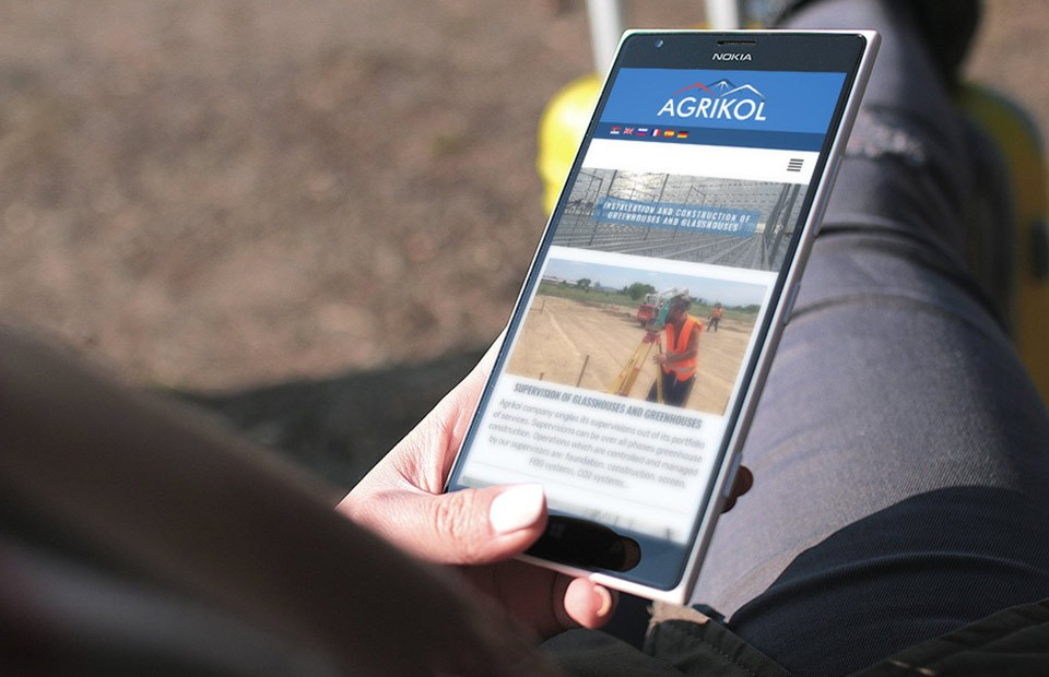 Izrada web sajta - Agrikol