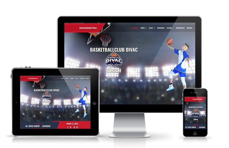 Internet prezentacija BC Divac