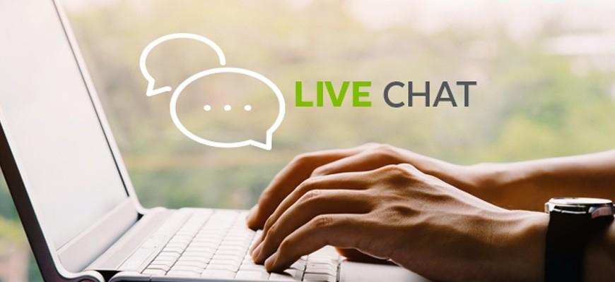 Live chat na web sajtu