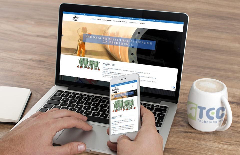 Web sajt MaxivTech