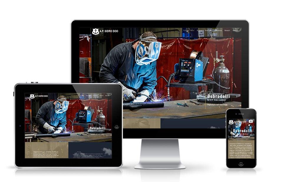 Izrada web sajta Beograd