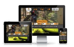 Izrada web sajta za prodaju bicikala