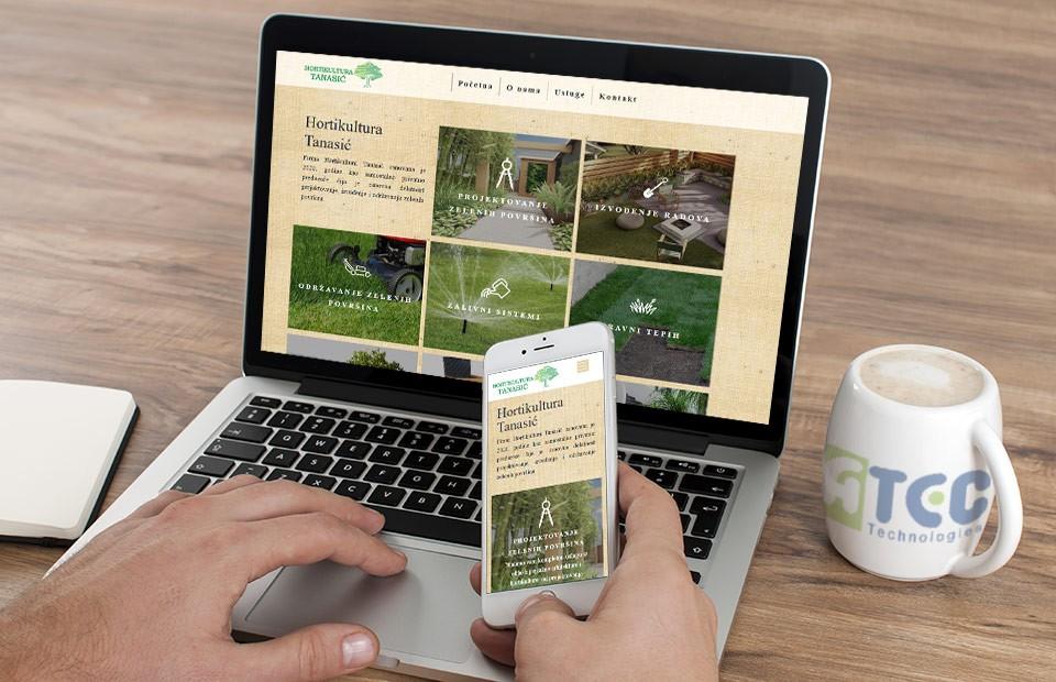Izrada web sajta za projektovanje