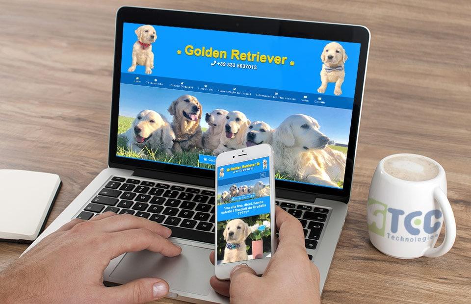 Web sajt za odgajivacnicu pasa