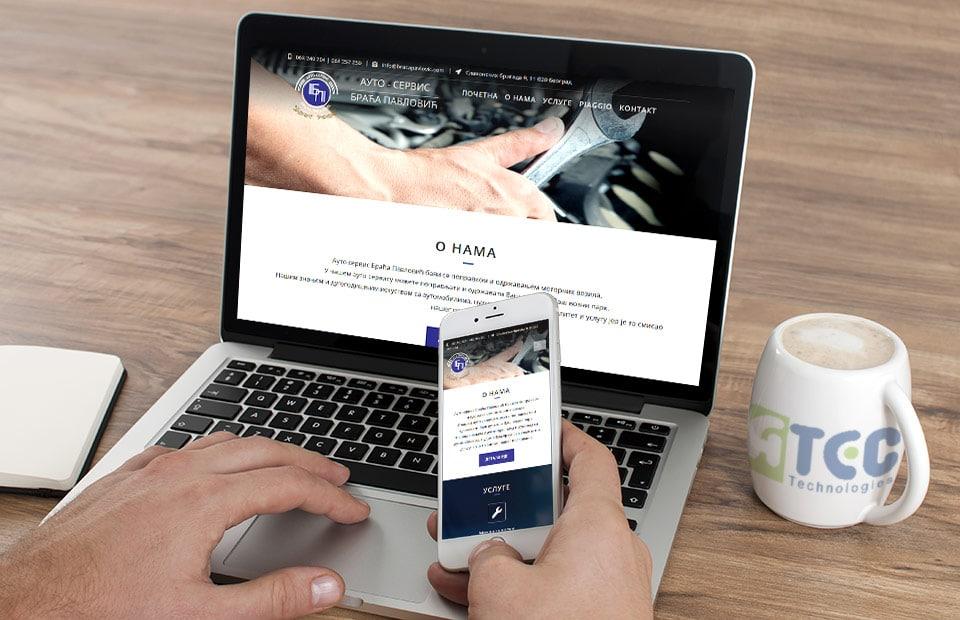 Internet prezentacija za auto servis beograd