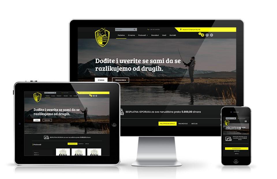 Izrada web prodavnice Kruševac